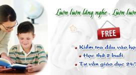 Dịch vụ dạy kèm tại nhà quận Hoàng Mai