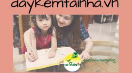 Gia sư dạy kèm môn tiếng Anh lớp 4 tại Hà Nội